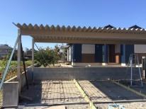 折半屋根カーポート